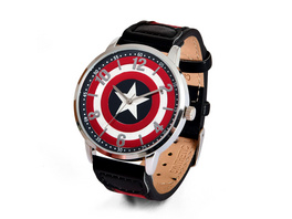 Captain America - Shield Logo Armbanduhr