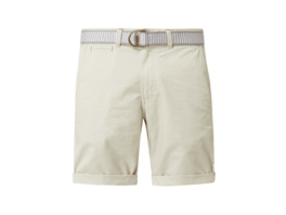 Chino-Shorts mit Gürtel Modell 'Lance'