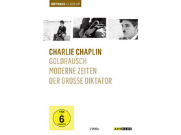 Charlie Chaplin - Arthaus Close-Up  [3 DVDs]