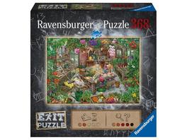 Ravensburger 16483 - Exit, Im Gewächshaus, Rätsel-Puzzle,