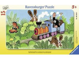 Ravensburger Maulwurf als Lokführer,Puzzle